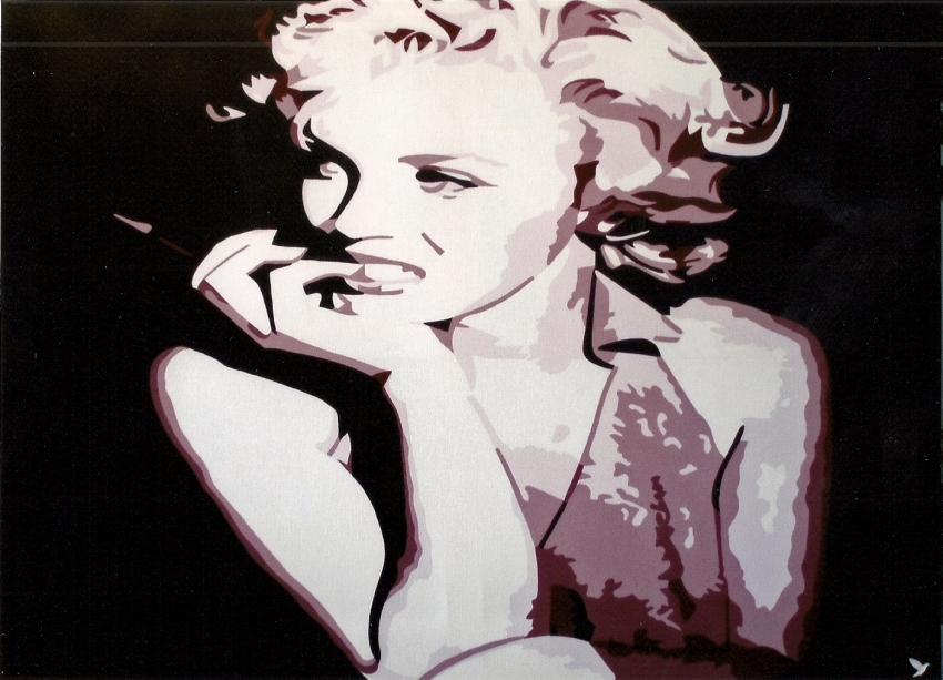 Marilyn Monroe par @do